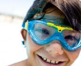Aqua SpAqua Sphere svømmebriller uden næse til børn