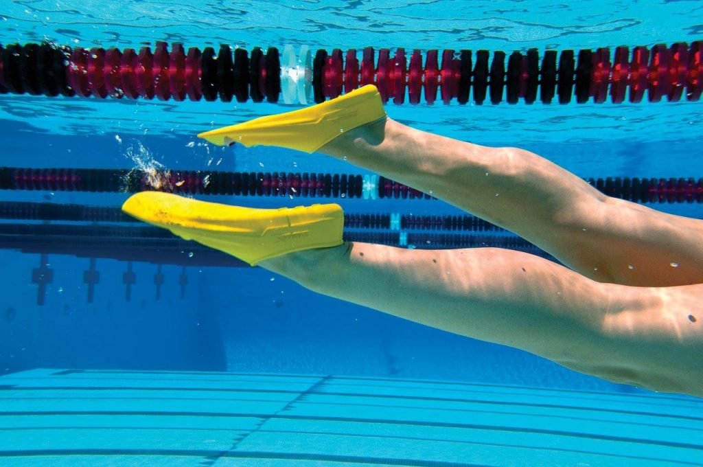 korte svømmefødder sprintsvømmefødder