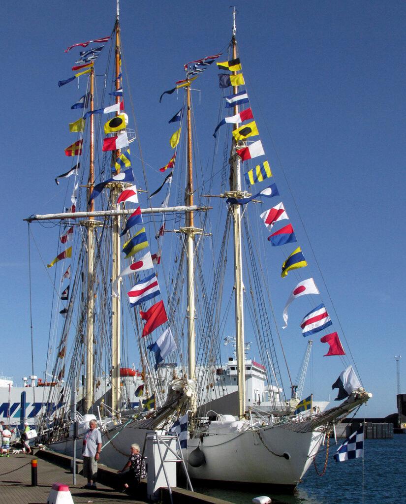 signalflag til søs