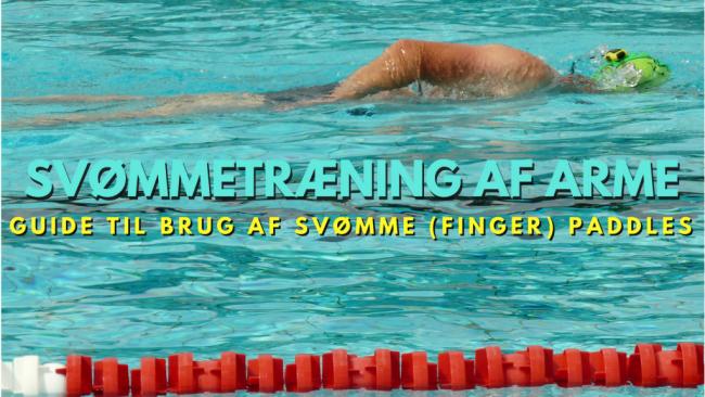 finger paddles svømme hænder træning af arme