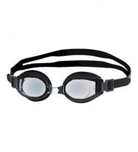 primotec svømmebriller med styrke til langsynede voksne