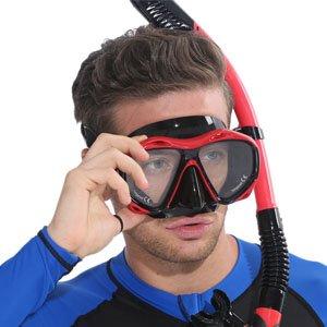 Dykkermaske med styrke billede