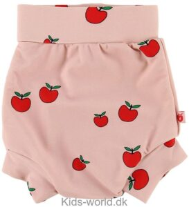 Småfolk Blebadebukser m. Høj Talje - UV50 - Rosa m. Æbler