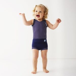 Splash About badedragt, Costume - Navy Dot