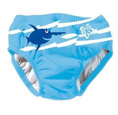 blå badeble