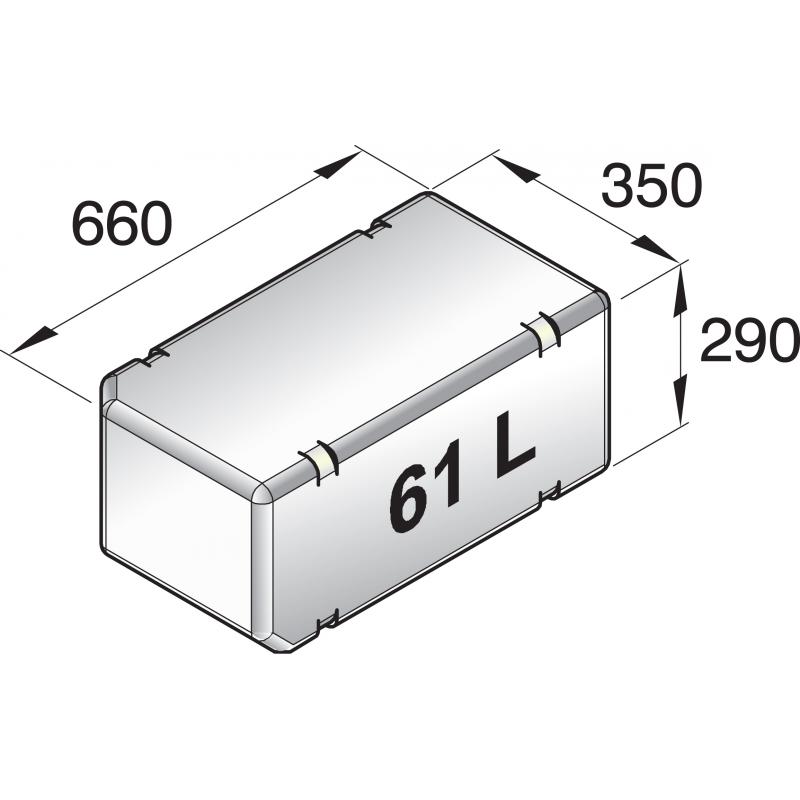 universelle tanke til båden 61L