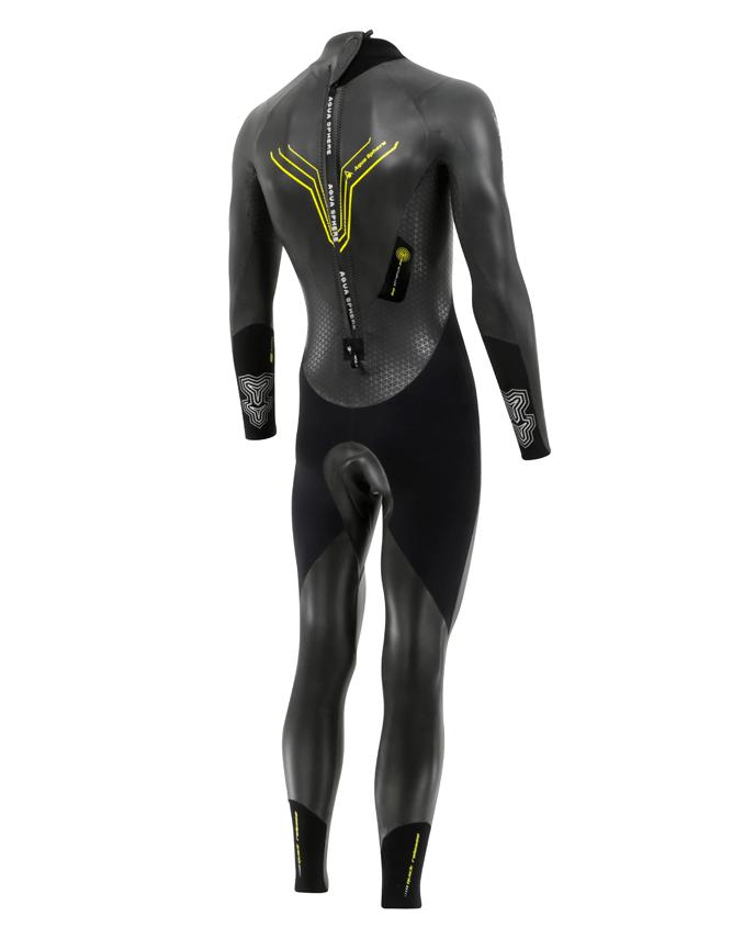 Aqua Sphere Pursuit Herre begynder våddragt til triathlon bagside