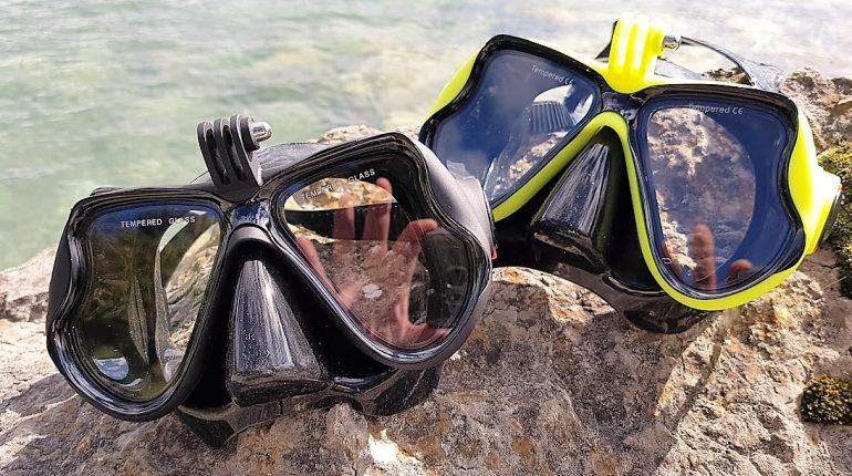 Dykkermaske de 5 bedste