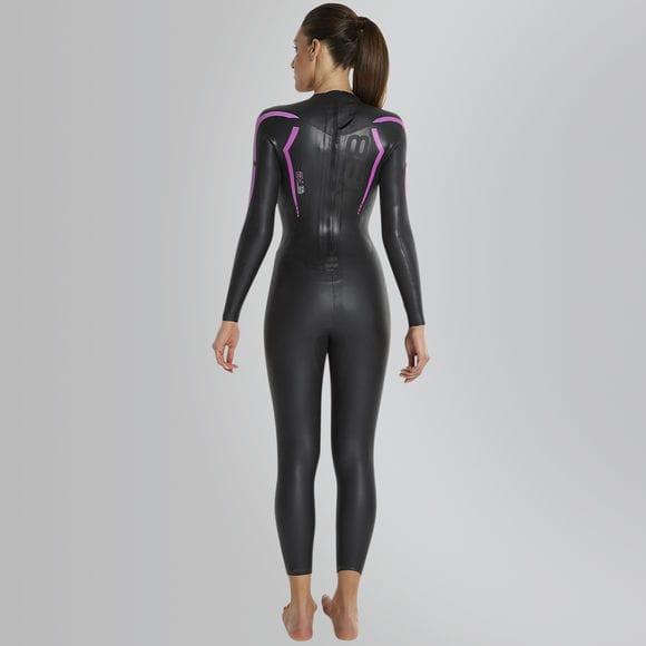 Speedo begynder våddragt Triathlon Full Suit 2017 Dame bagside