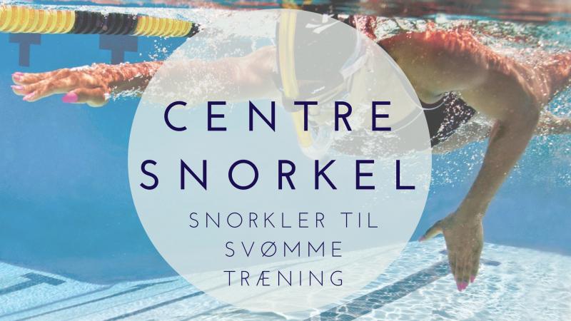 centre snorkel til svømme træning snorkler