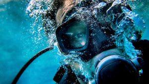 Kontaktlinse dykning