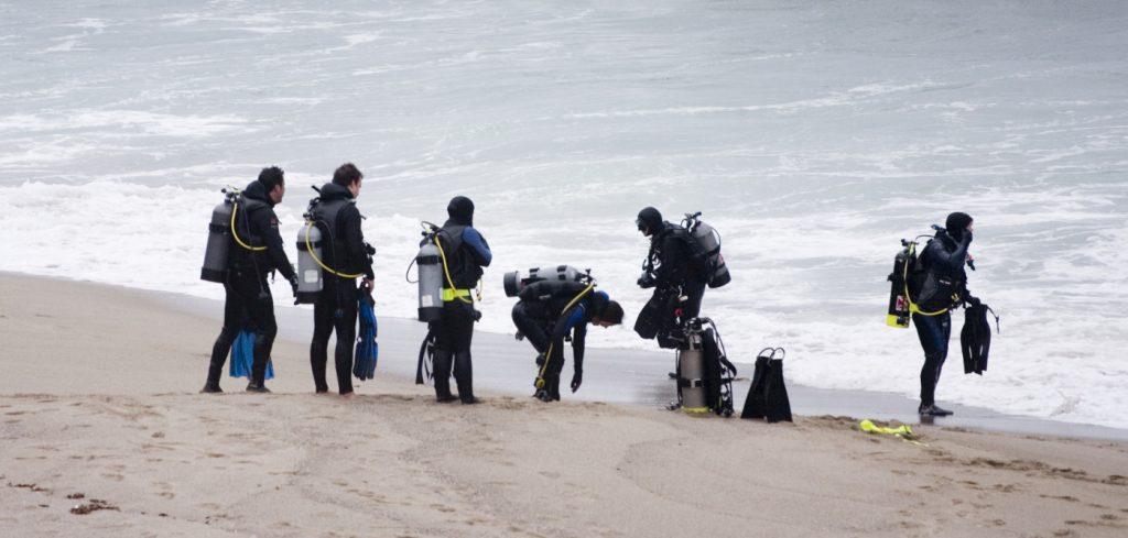 dykkerudstyr komplet sæt