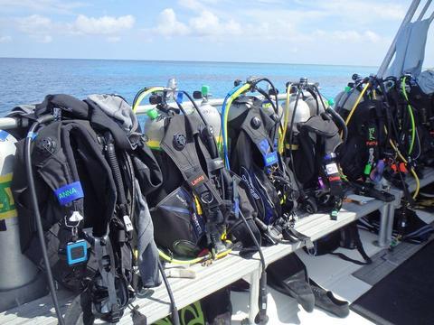komplet pakkeliste dykkerrejse