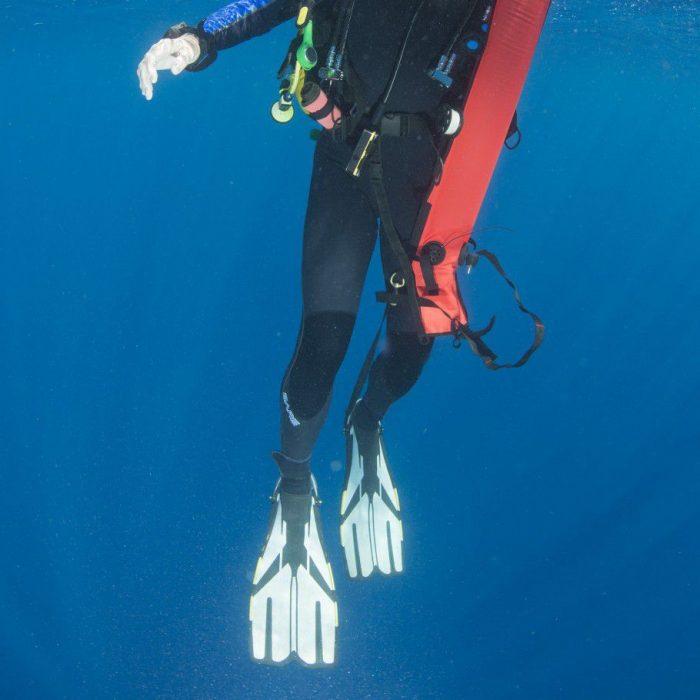 markeringsbøje til dykning