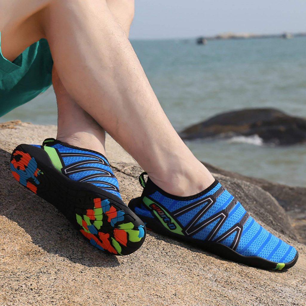 svømme sko