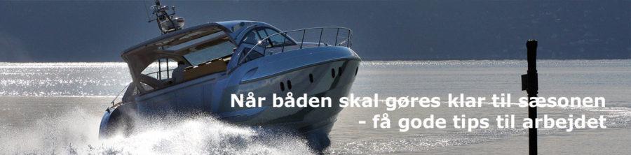 Sådan gør du din båd klar til vinter