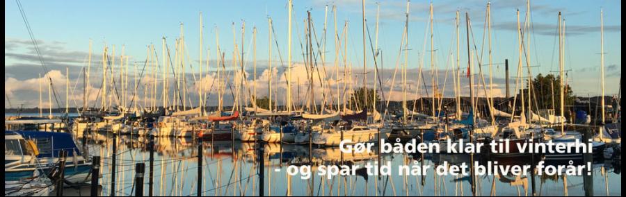 sådan klargør du din båd til vinter