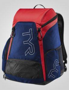 TYr alliance team rygsæk 30L rød og blå