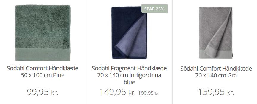 södahl bedste håndklæder