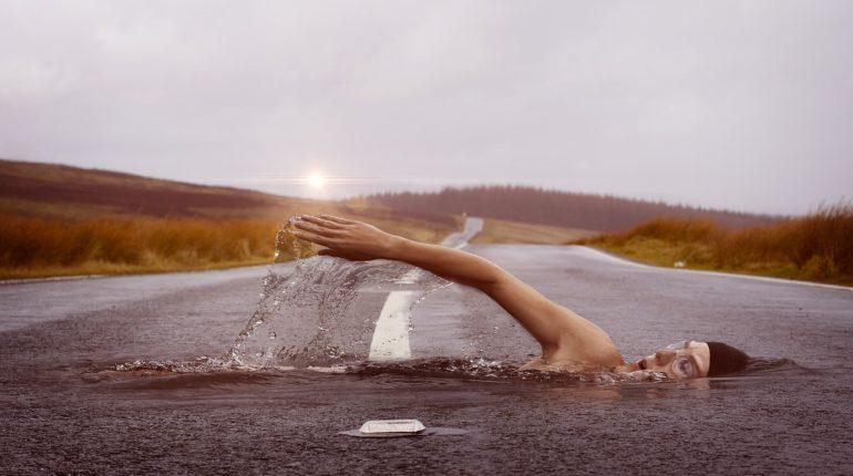 svømning som motion