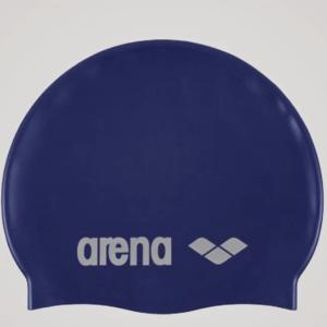 Classic silikone badehætte - Mørkeblå
