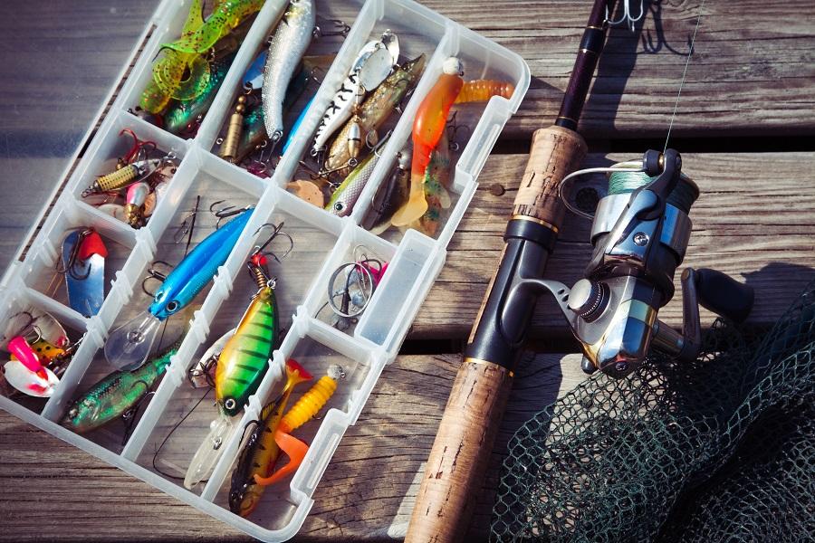 fiske udstyr