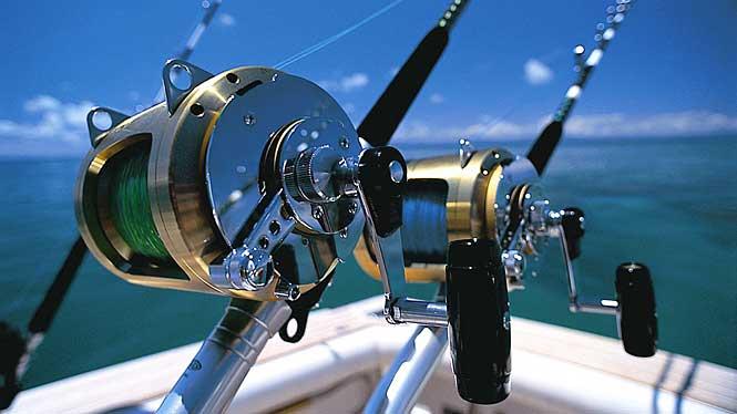 havfiske hjul