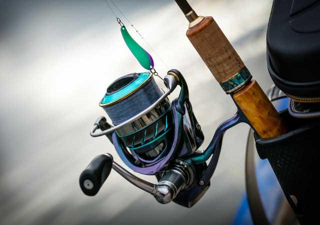 hjul til fiskestang