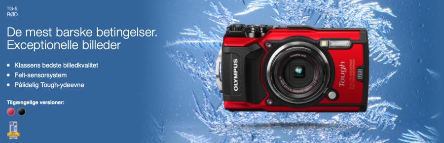olympus TG-5 kamera