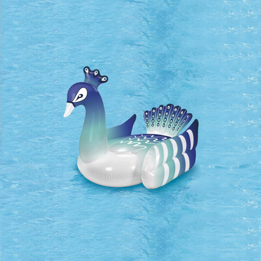 Påfugle badedyr