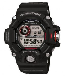 CASIO G-SHOCK Rangeman GW-9400-1ER – Digitalt dykkerur med sporty design