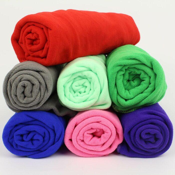 Microfiber håndklæder