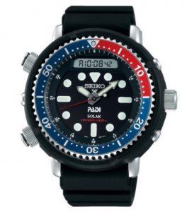 SEIKO Prospex Padi Dykkerur – Verdens første dykkerchronograf med alarmfunktion