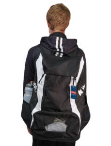 Watery Squad Backpack worn