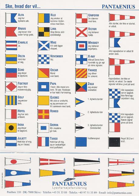signalflag betydning