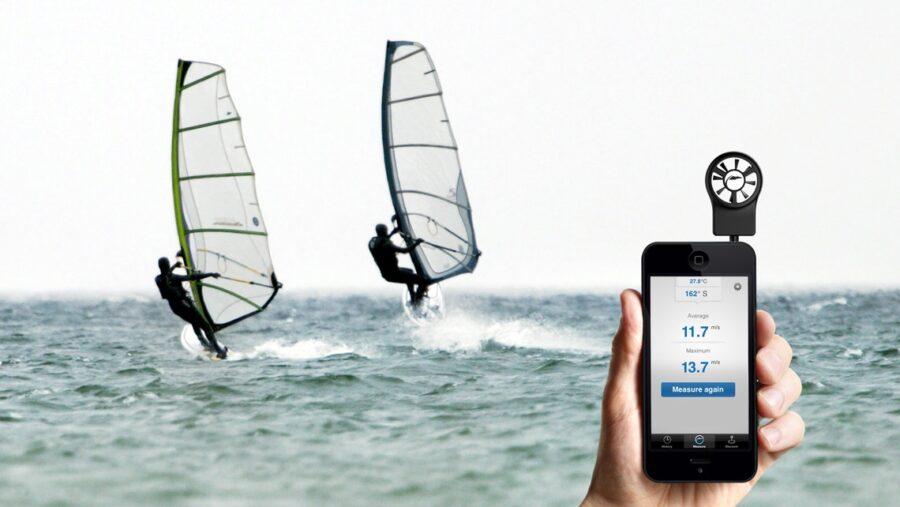 vindmåler til smartphone